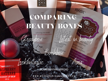 Comparing Beauty Boxes - ASOS, Glossybox, Birchbox,  Latest in Beauty & Lookfantastic