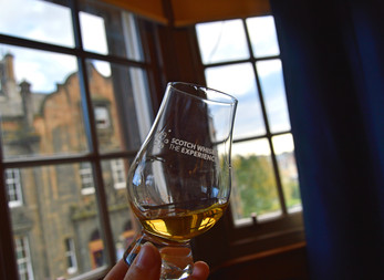 Tasting Tales at The Scotch Whisky Experience: whisky, storytelling and food pairings