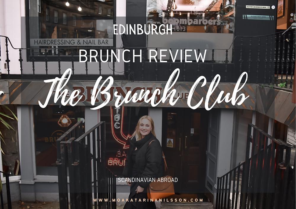 Edinburgh The Brunch Club