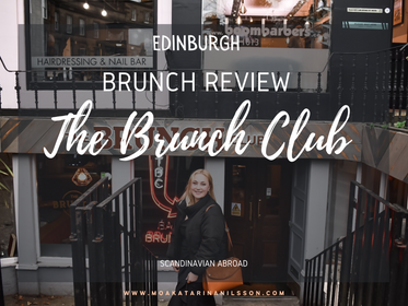 A visit to The Brunch Club, Edinburgh
