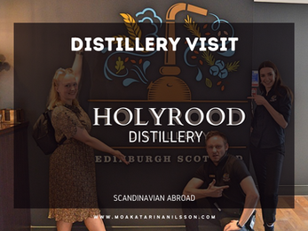 Distillery Visit: Holyrood Distillery in Edinburgh, Scotland