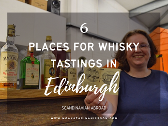 6 places for whisky tastings in Edinburgh, Scotland