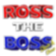 Ross The Boss Logo 3D FINAL with Sketch