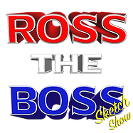 Ross The Boss Logo 3D FINAL with Sketch