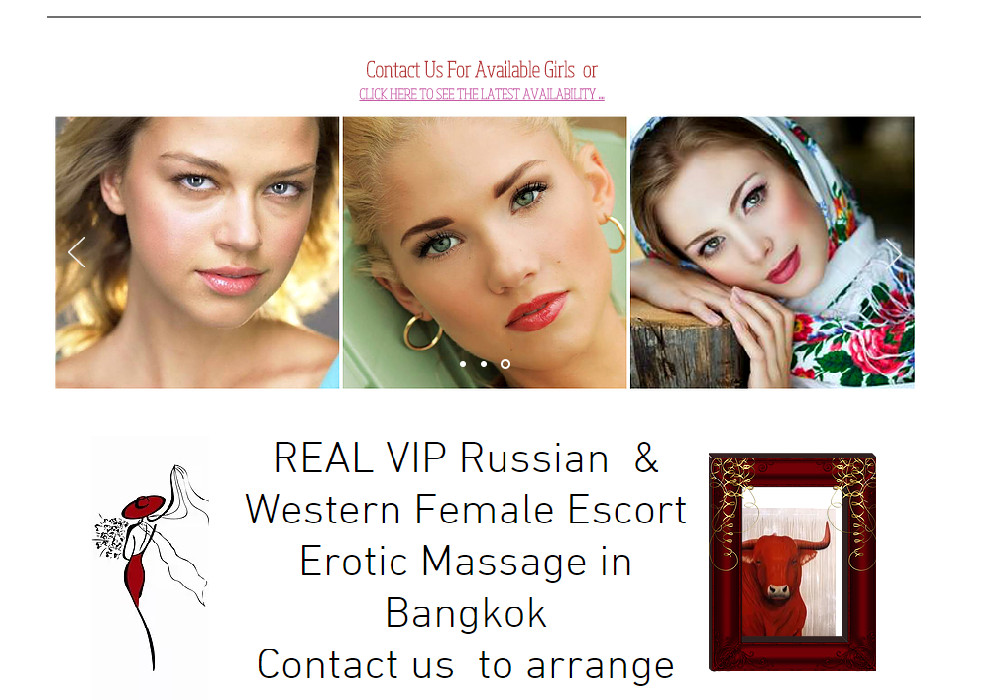 Russian Escort Services in Bangkok