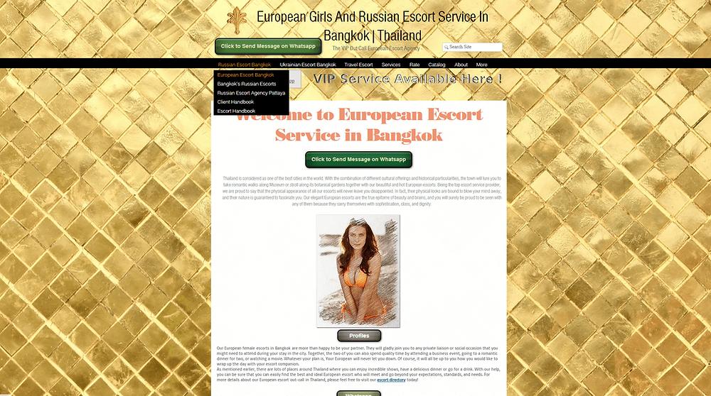 Russian escort Bangkok Service Provider