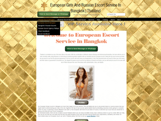 European or Russian Escorts to Accompany You in Bangkok and Pattaya