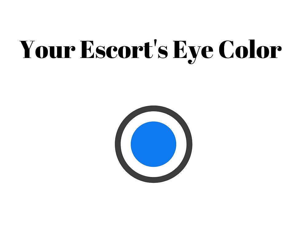 Your escort eye color