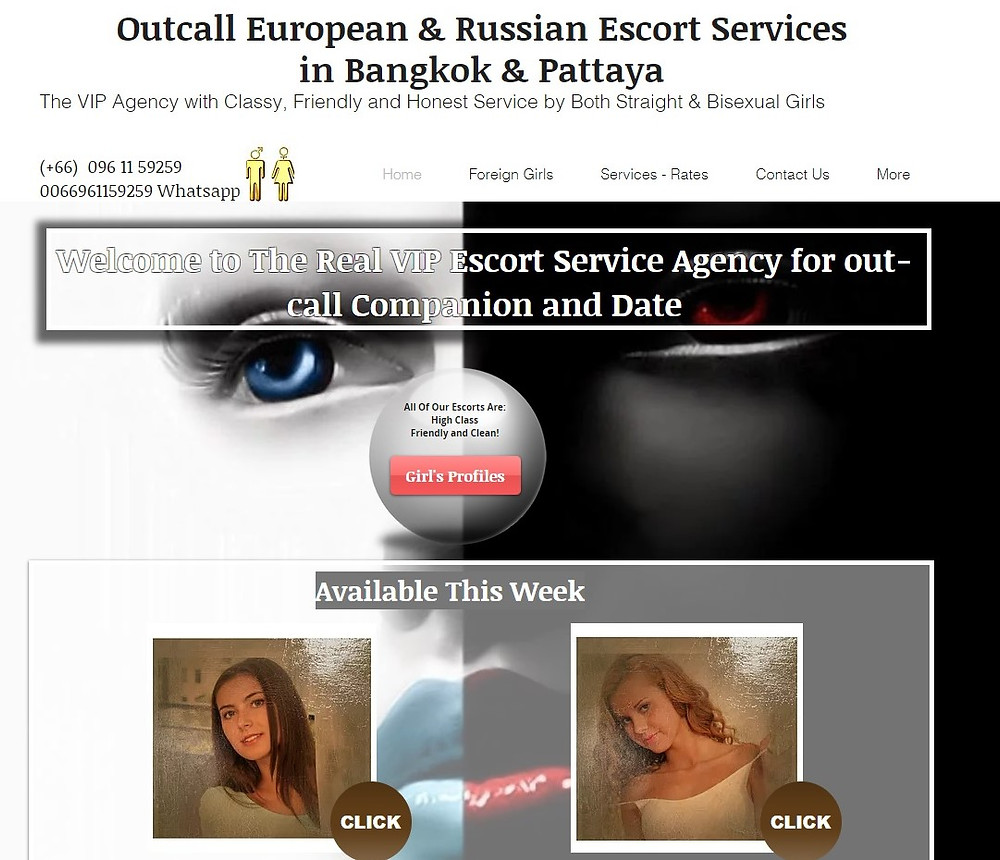 European Escorts Bangkok