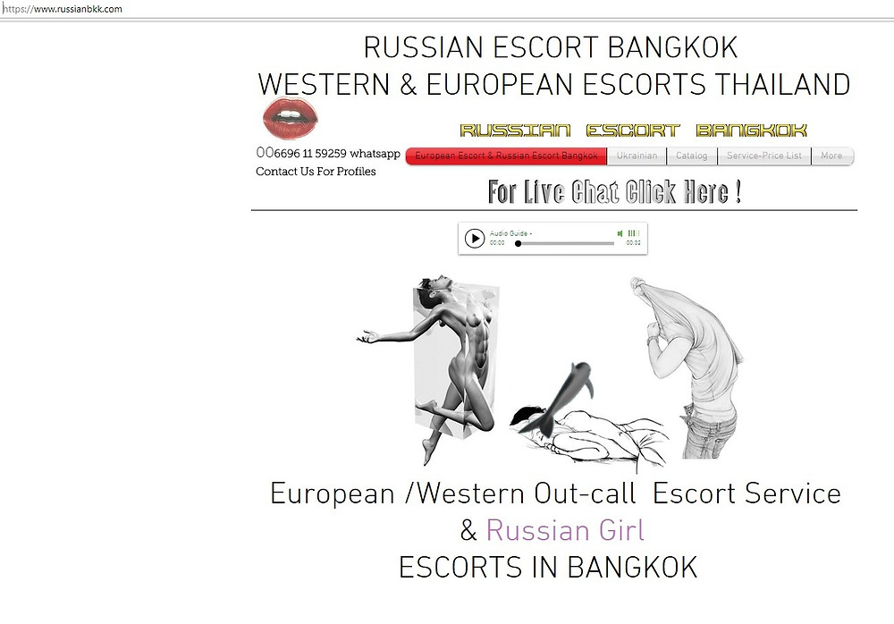 Russian Escorts and companion agency in Bangkok