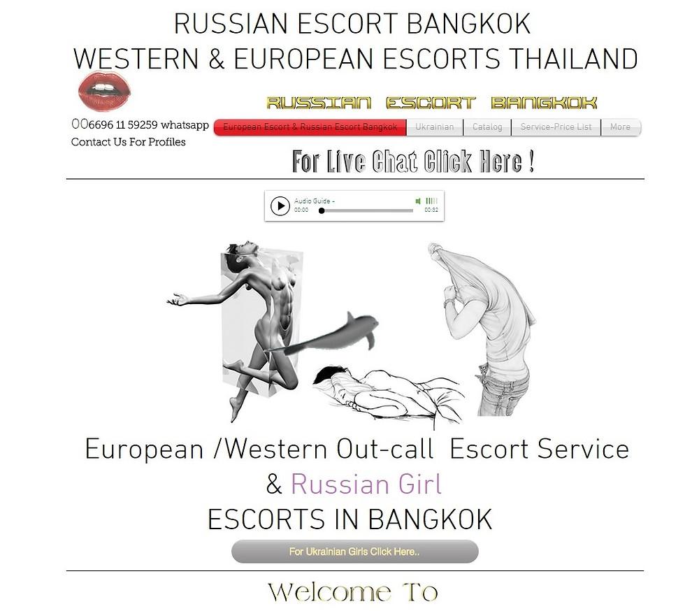 Russian sex girls in Bangkok city of Thailand