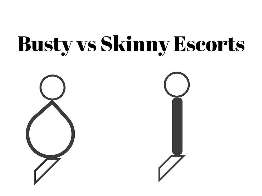 Busty vs Skinny European Escorts in Bangkok