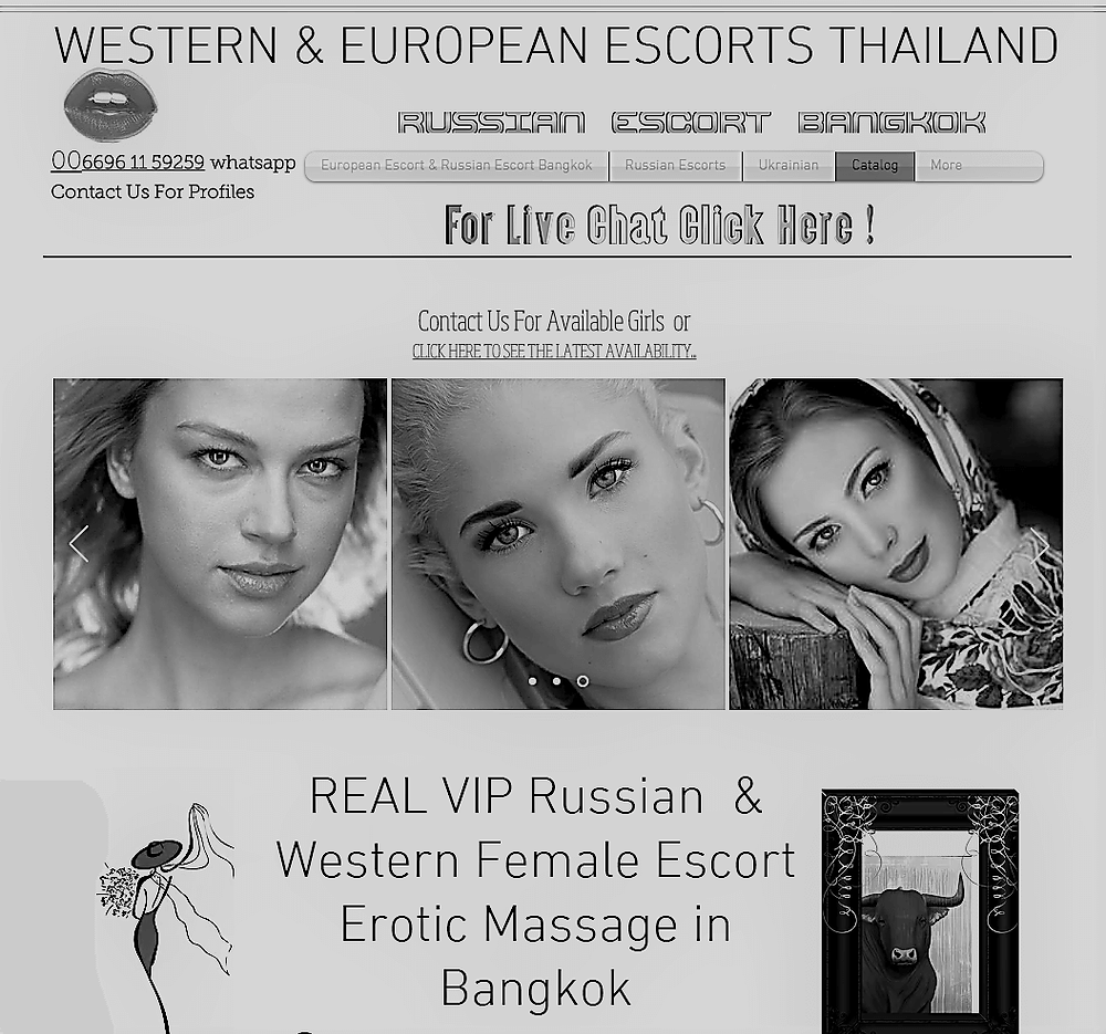 Euro escort models in bangkok