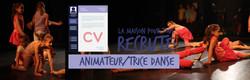 Recrutement MPT : Animateur/trice de danse