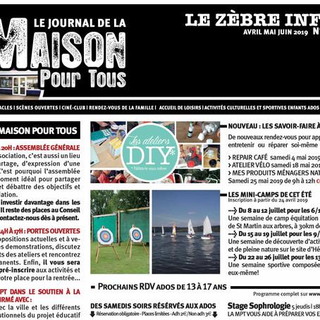 Le zèbre info n°45