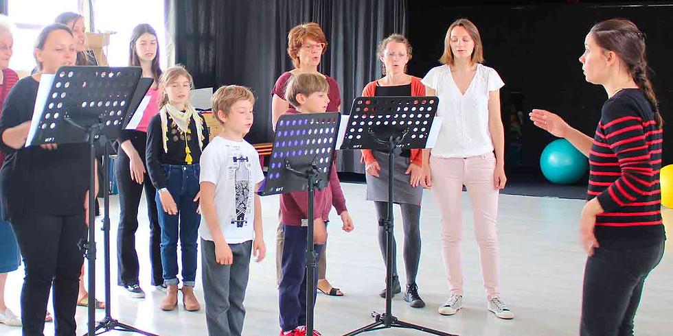 Première séance chorale