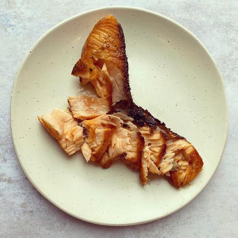Pan Seared Crispy Skin Salmon