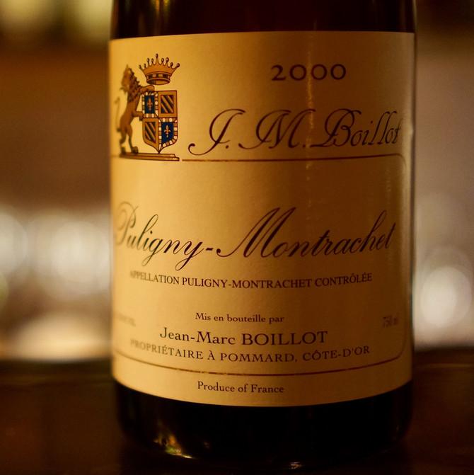 2000 Puligny Montrachet Jean Marc Boillot