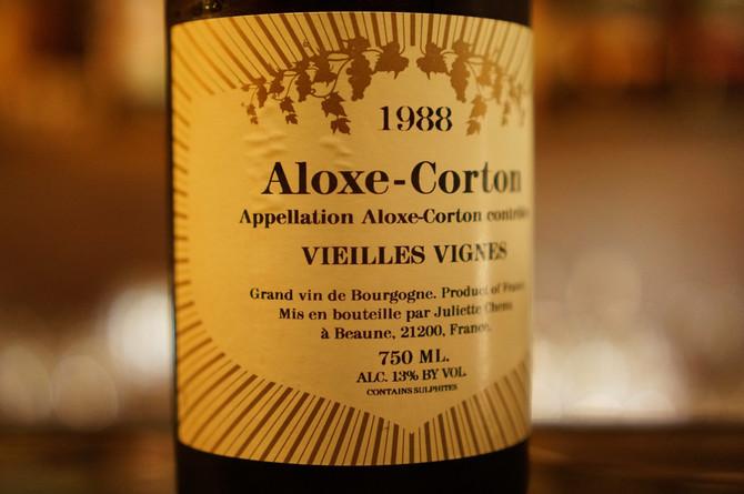 1988 Aloxe Corton Vieilles Vignes Juliette Chenu