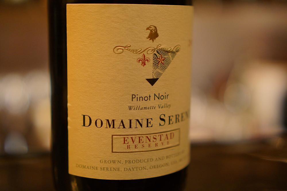 2011 Domaine Serene Evenstad Reserve Pinot Noir Willamette Valley ドメーヌ セリーヌ エヴァンスタッド レゼルヴ ピノ ノワール ウィラメット ヴァレー
