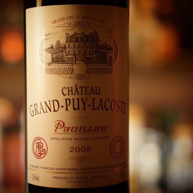 2008 Chateau Grand Puy Lacoste