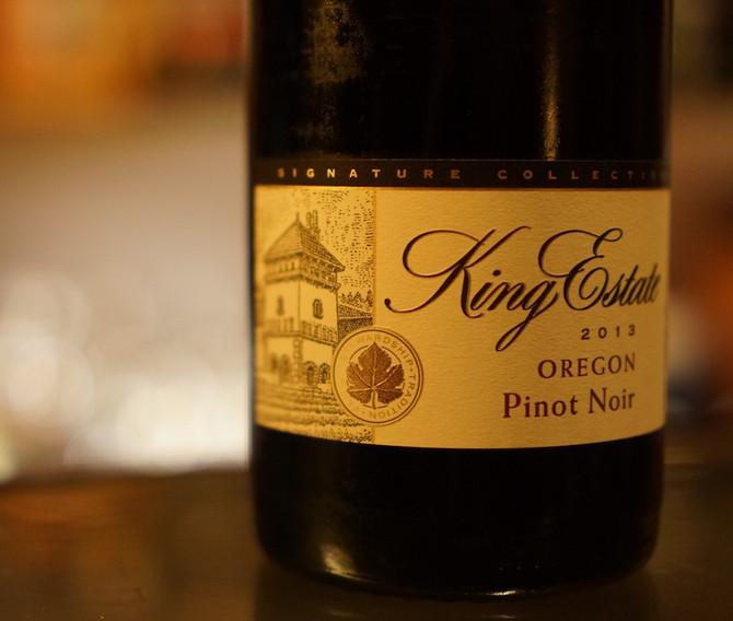2013 Signature Collection Pinot Noir King Estate