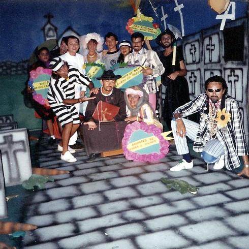 1995 - TDP - gravação VIDEO OCLIP FALCÃO