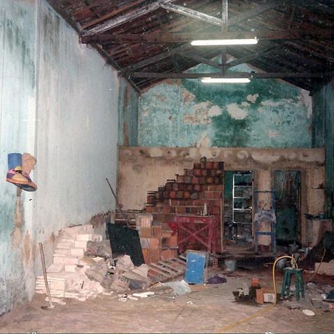 1994 -TDP -  construção do camarim