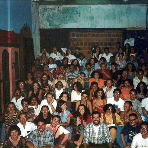 1997 - TDP - Plateia na Sede na Rua Senador Almino