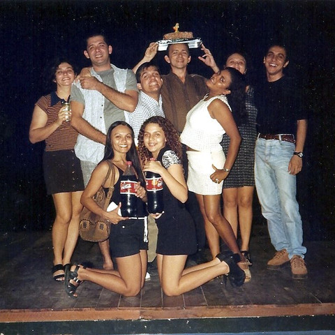 1997 - aniversário do Teatro da Praia