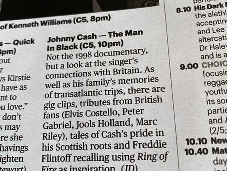 Johnny Cash: The Man in Black in Britain