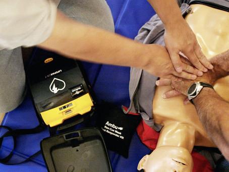 Formation aux gestes de 1ers secours pour les salariés partant à la retraite