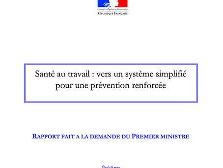 2 rapports LECOQ pour la santé au travail en France