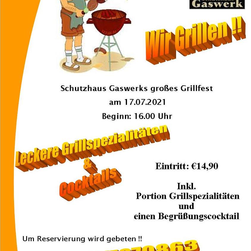 Grillfest im Schutzhaus Gaswerk