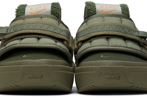 "Nike Khaki Offline Slip-On Loafers "" Army Olive"""