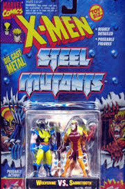 Wolverine vs. Sabretooth (Steel Mutants)