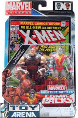Marvel Universe Colossus Vs Juggernaut Action Figure 2-Pack