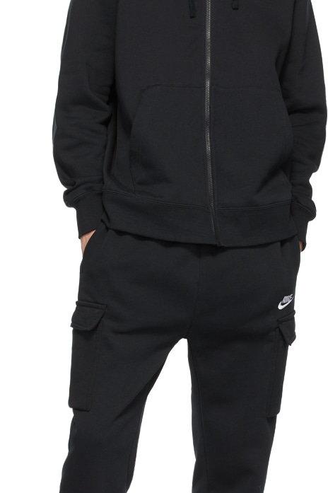 """Nike Sportswear Club Fleece Jogging Suit (Cargo Pants) """"Black"""""""