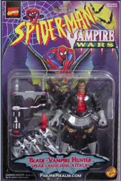 Marvel Comics Spider-Man Vampire Wars Blade- Vampire Hunter Figure Toy Biz