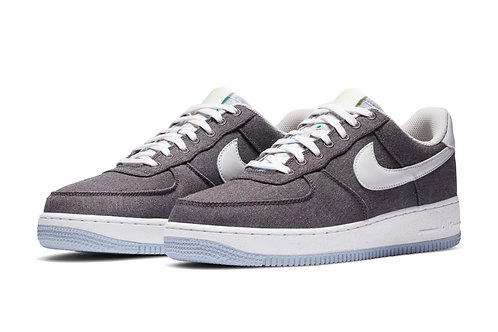 """Nike Air Force 1 """"Iron Grey"""" Recycled Material"""