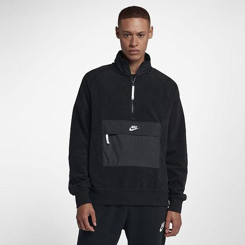 """Nike Sportswear Winterized Mens Half Zip Top """"Black"""""""