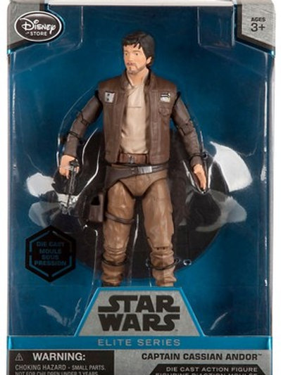 Disney Star Wars Rogue One Elite Captain Cassian Andor Exclusive 6.5-Inch Diecas