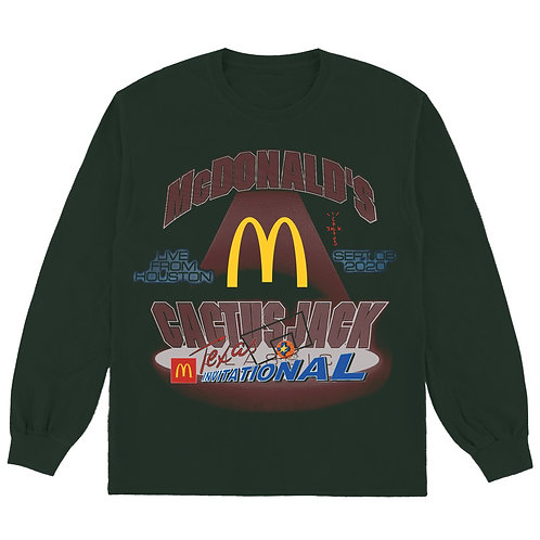 "Travis Scott X McDonald's ""Invitational L/S"