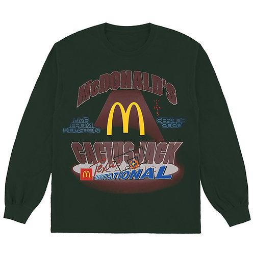 """Travis Scott X McDonald's """"Invitational L/S"""