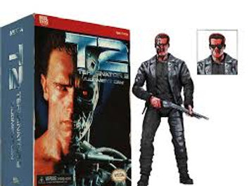 Terminator 2 T-800 action figures Classic video game 7-Inch Action Figure