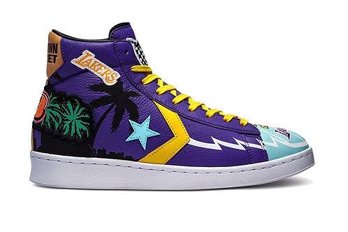 "Converse Pro Hi ""Lakers Jacket"" 3 Peat"