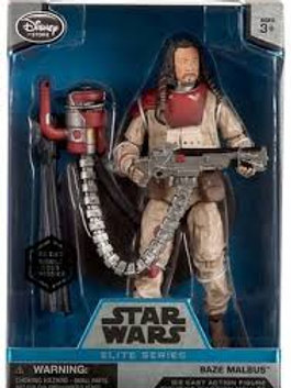 Disney Star Wars Rogue One Elite Baze Malbus Exclusive 6.5-Inch Diecast Figure