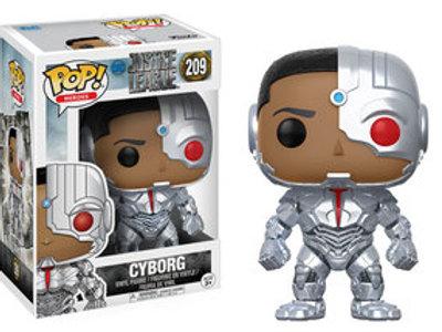 "Cyborg ""Justice League 209"" Funko Pop"