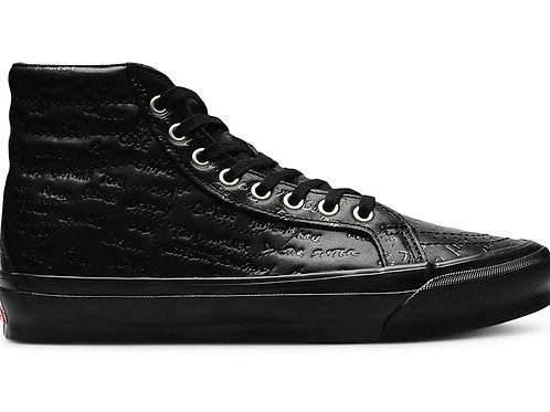 Vans-Sk8-Hi-LX-Jim-Goldberg-Black-Leather