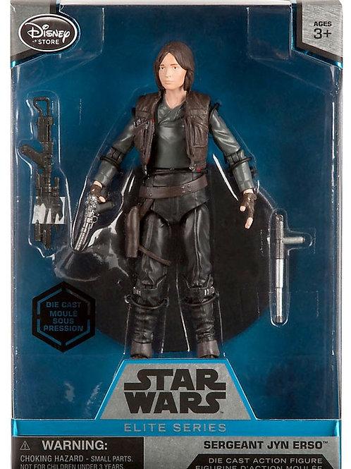 Disney Star Wars Rogue One Elite Sergeant Jyn Erso Exclusive 6.5-Inch Diecast Fi